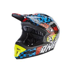 ONeal Fury RL Bike Helmet Wild colourful